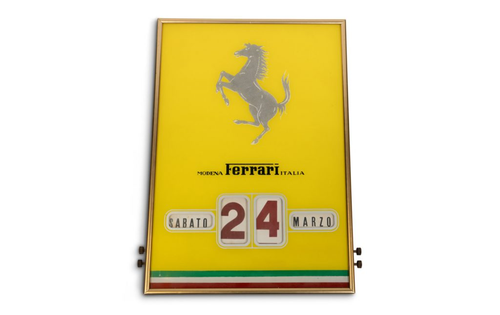 Ferrari Factory Perpetual Calendar Saturday March 24th