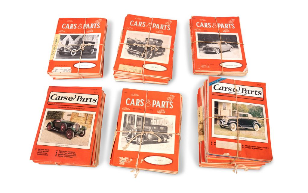 Cars and Parts Magazines bundled