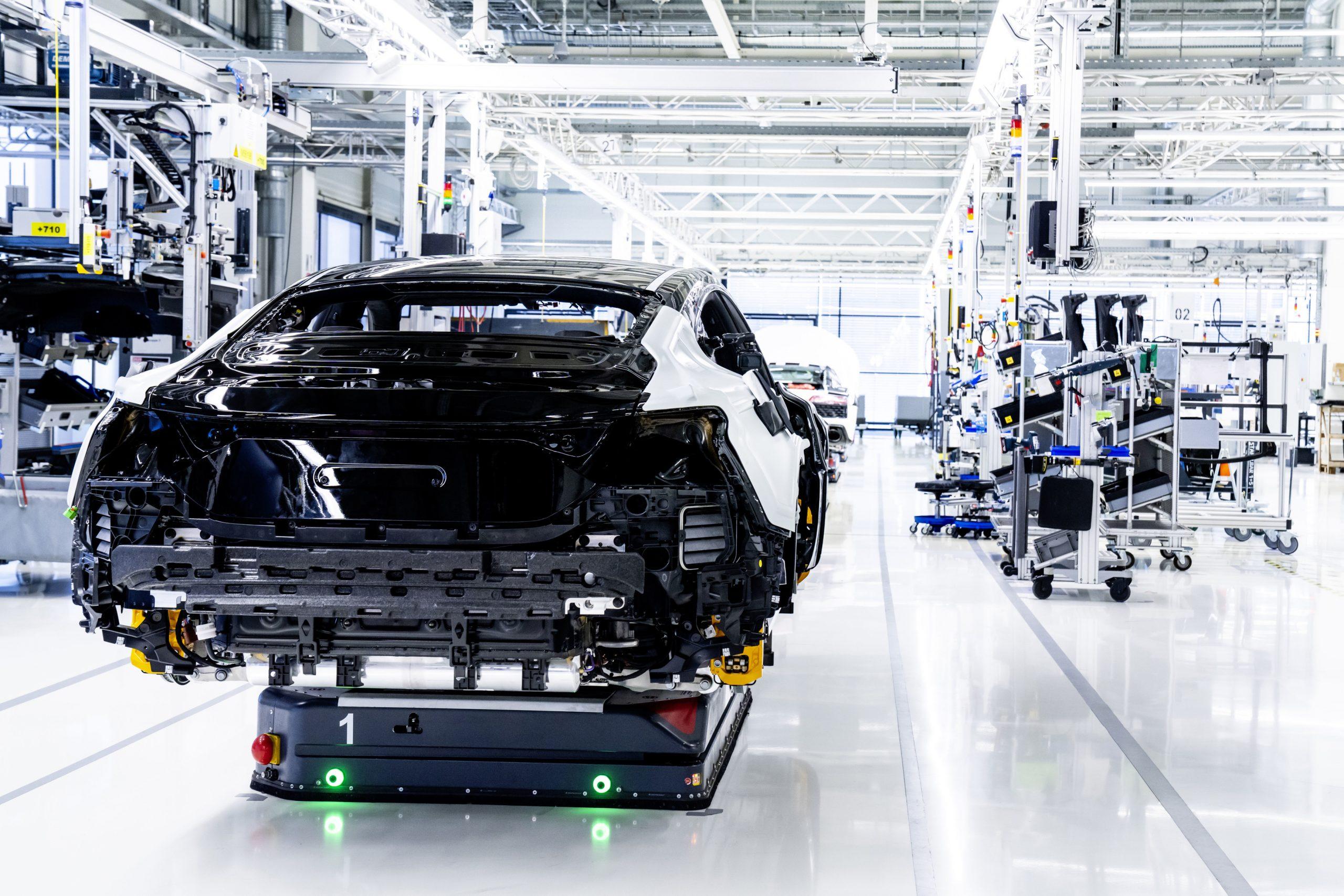 Audi e-tron GT assembly 2