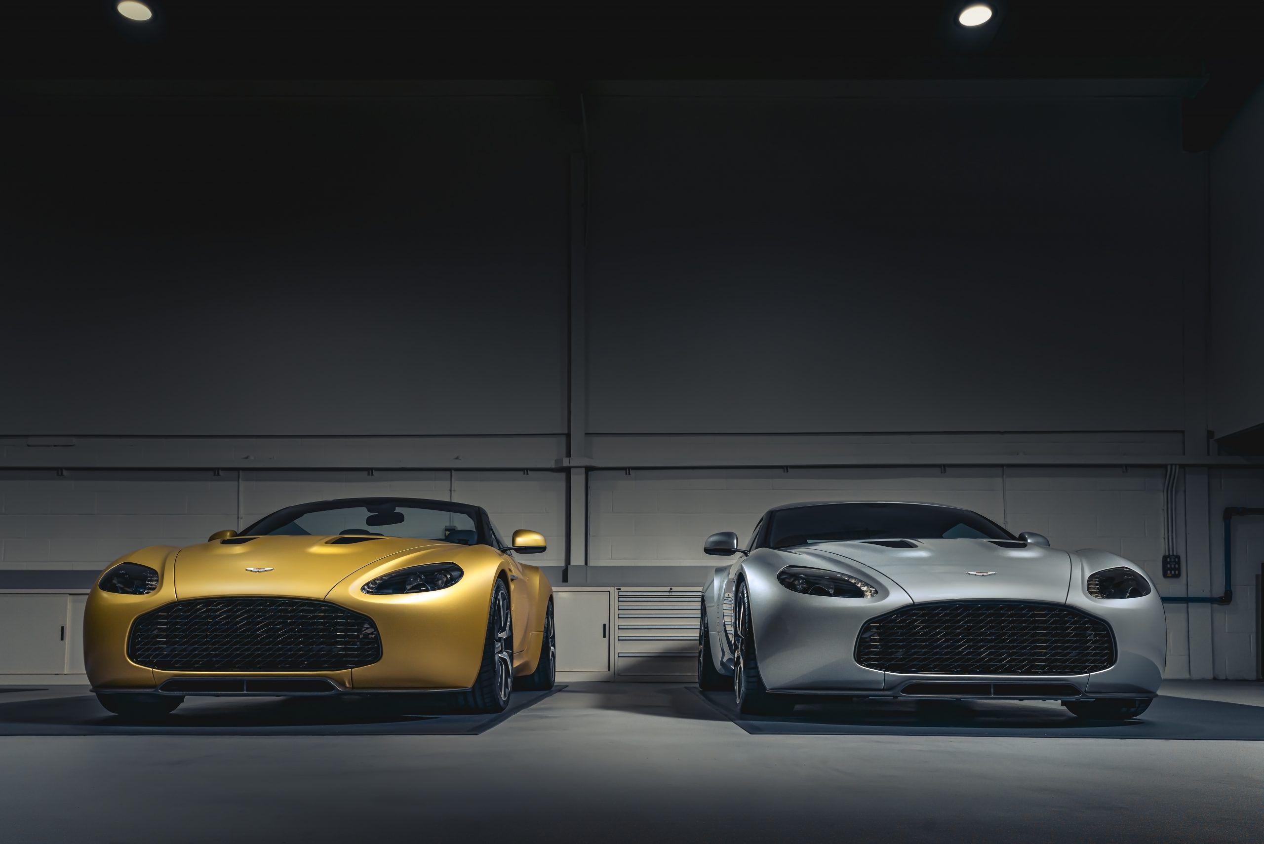 Aston Martin Vantage V12 Zagato Heritage TWINS by R-Reforged front 2