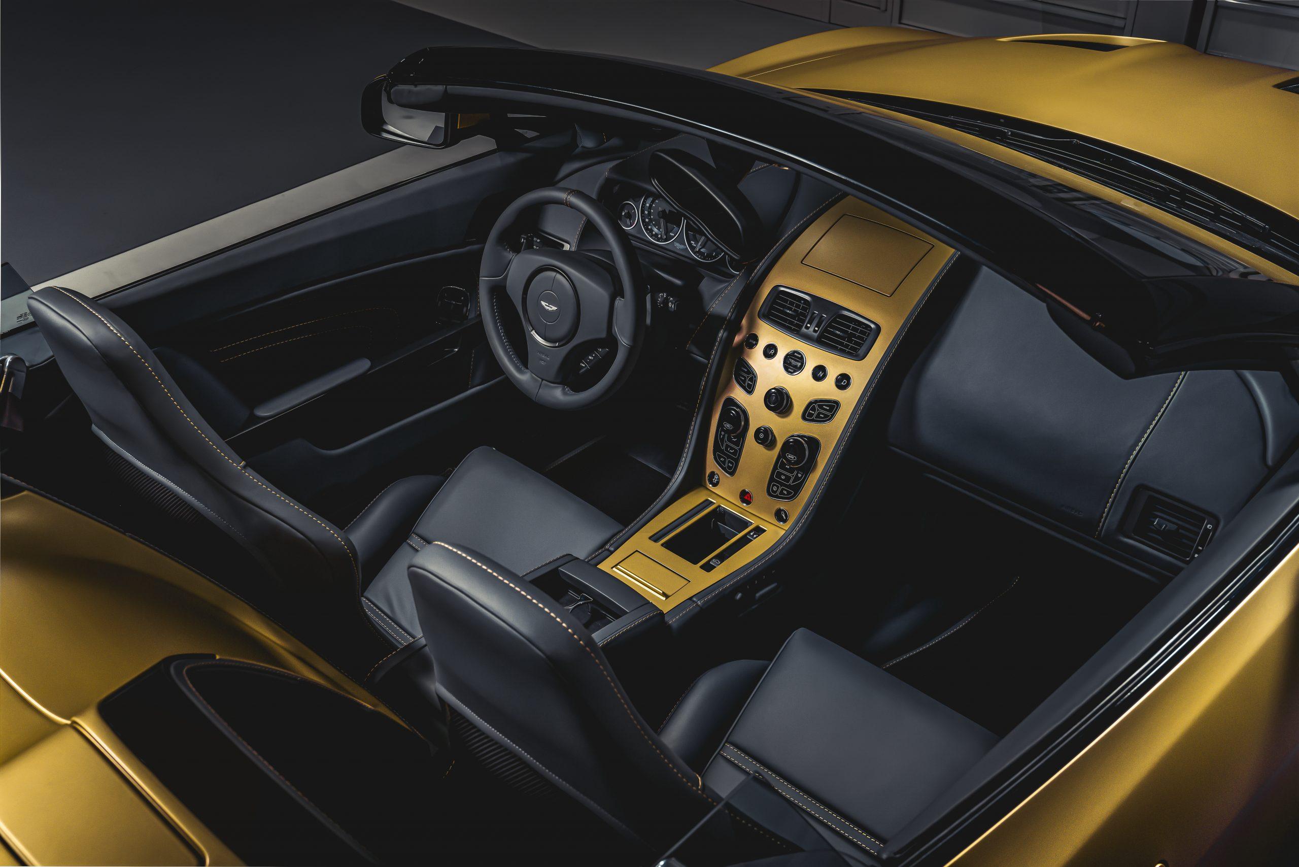 Aston Martin Vantage V12 Zagato Heritage TWINS by R-Reforged interior