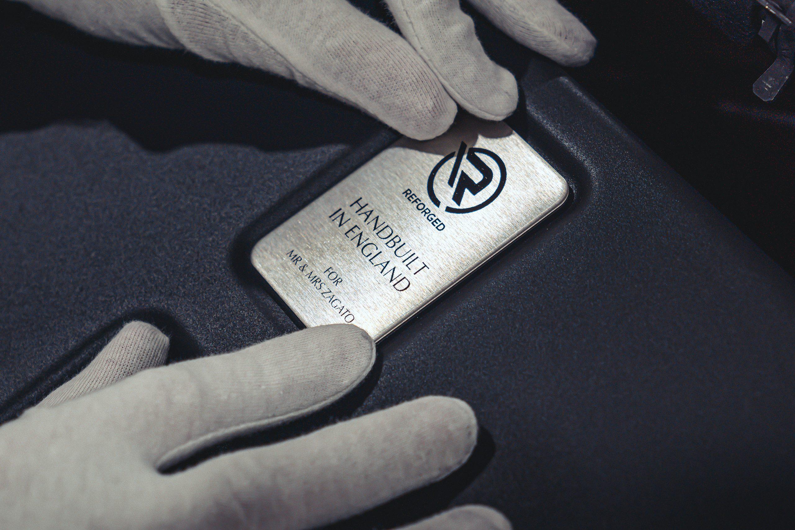 Aston Martin Vantage V12 Zagato Heritage TWINS by R-Reforged plate