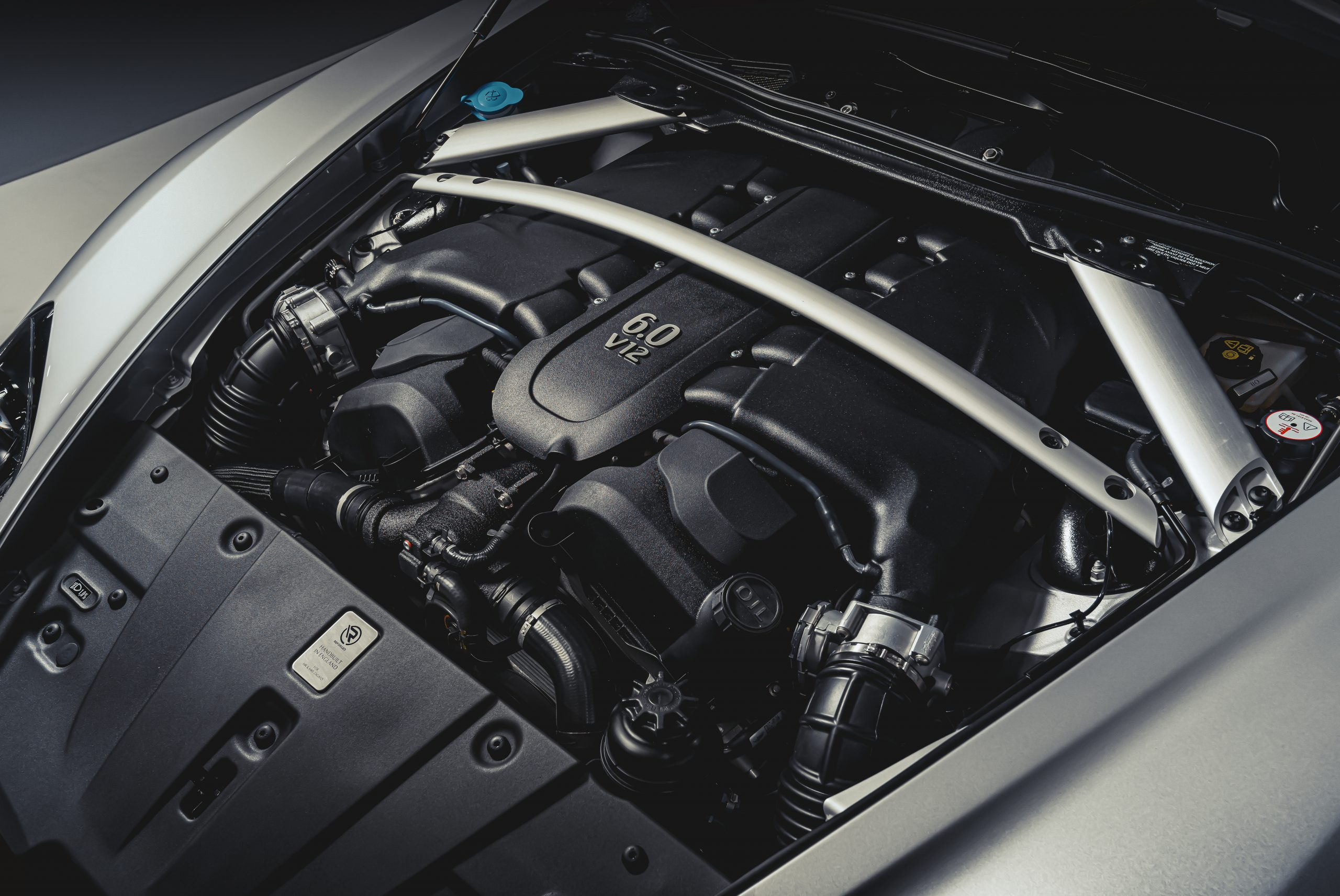 Aston Martin Vantage V12 Zagato Heritage TWINS by R-Reforged underbonnet