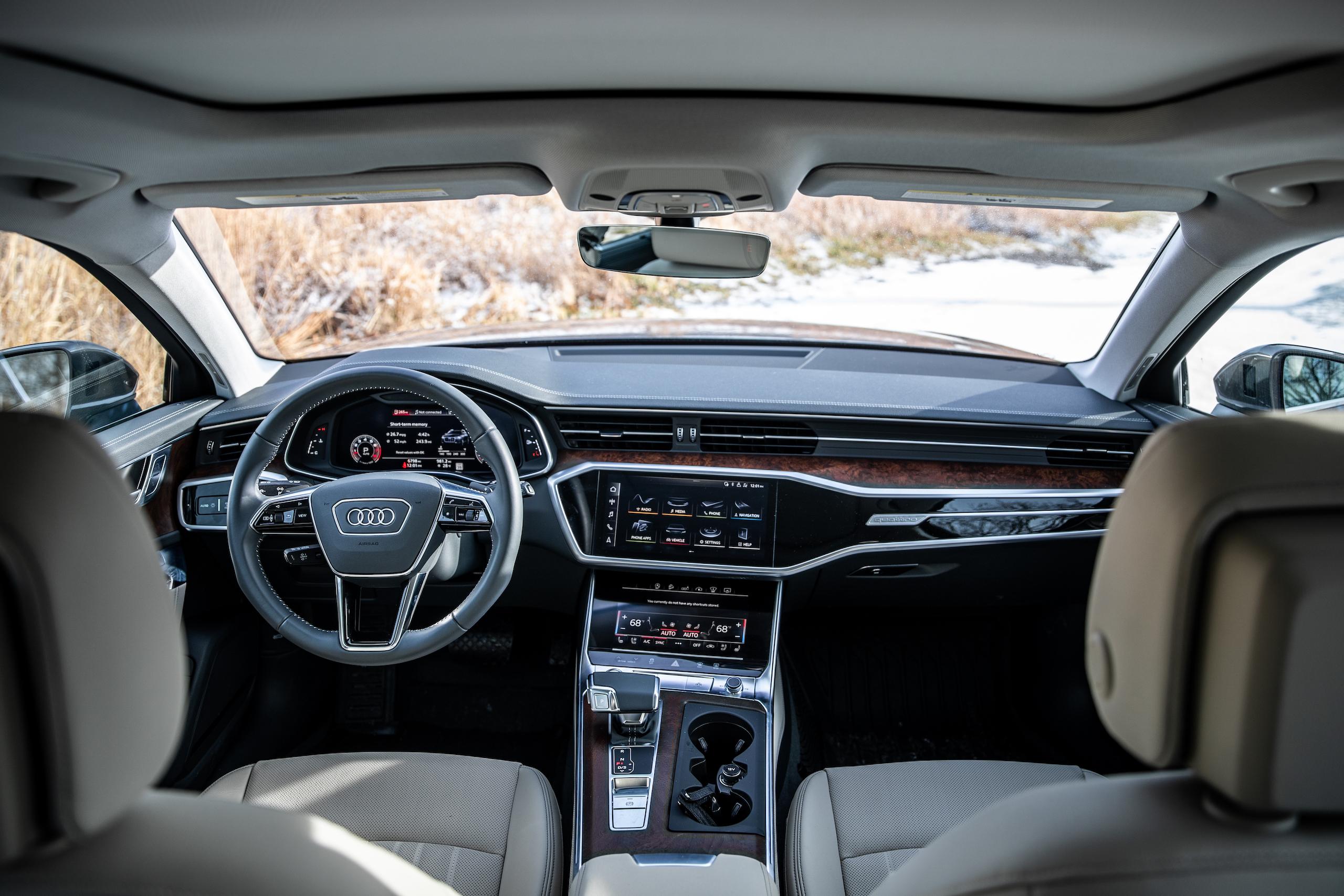 Audi A6 Allroad Quattro Wagon interior front