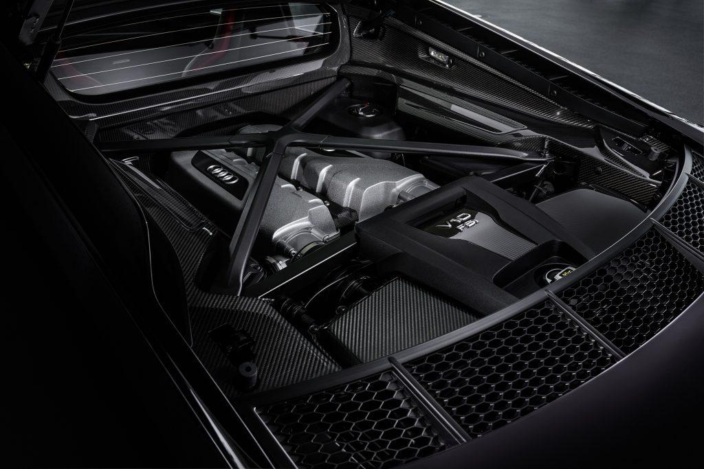 2021 Audi R8 Engine Bay