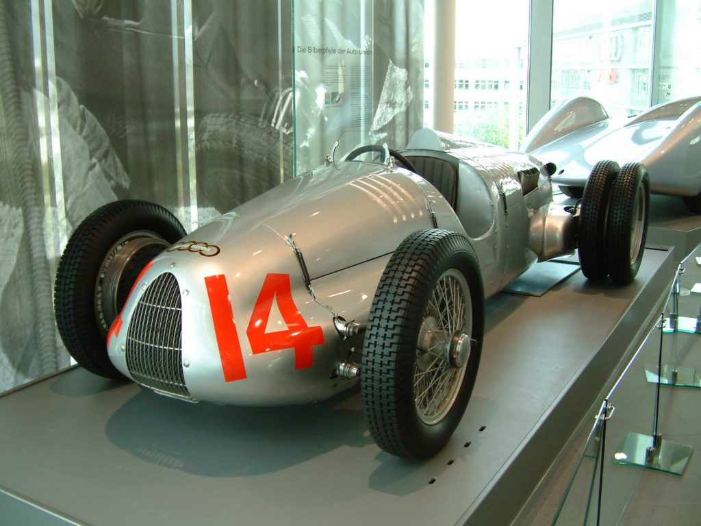 Auto Union race car with preselector clutchless