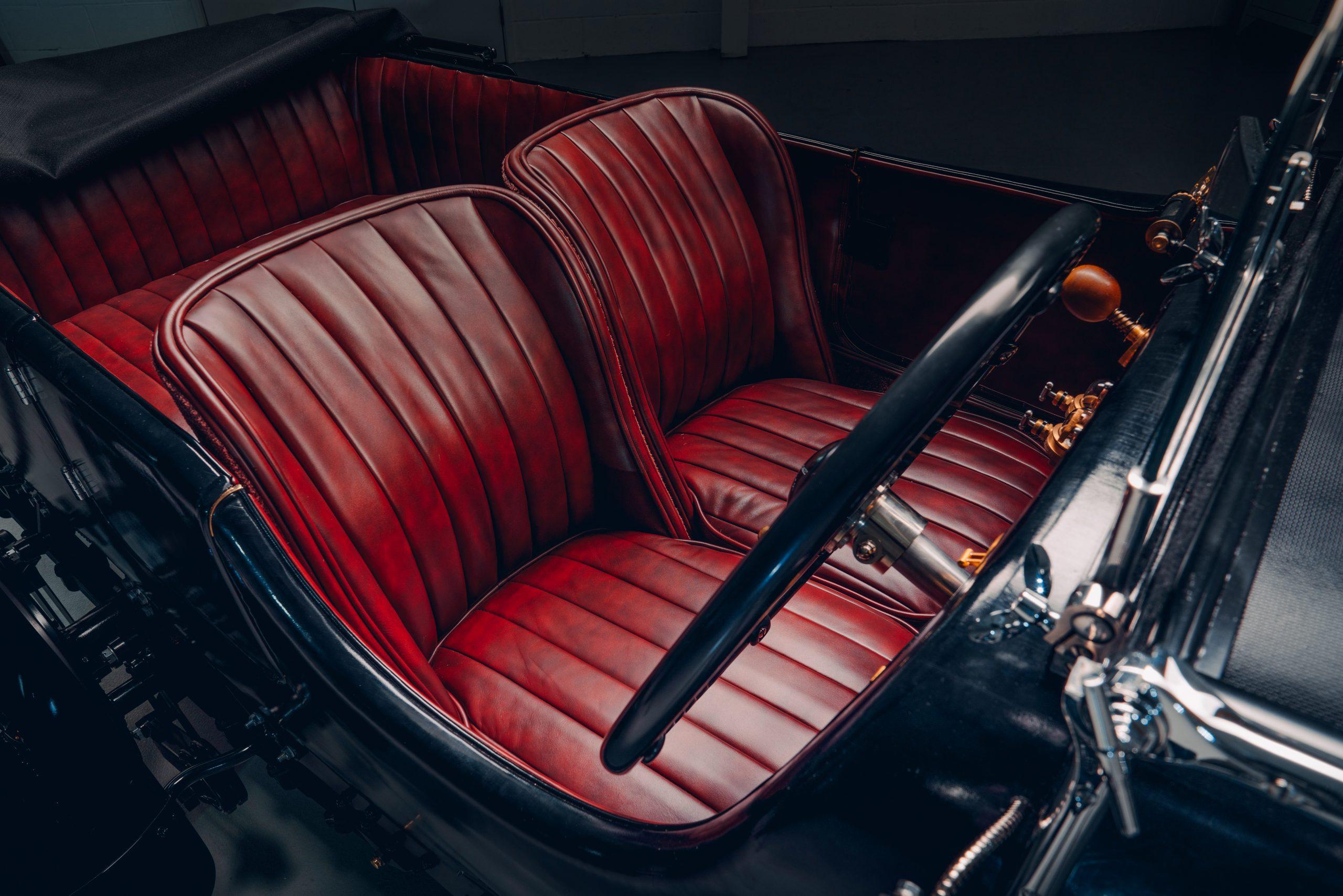 Bentley Blower Car Zero seats