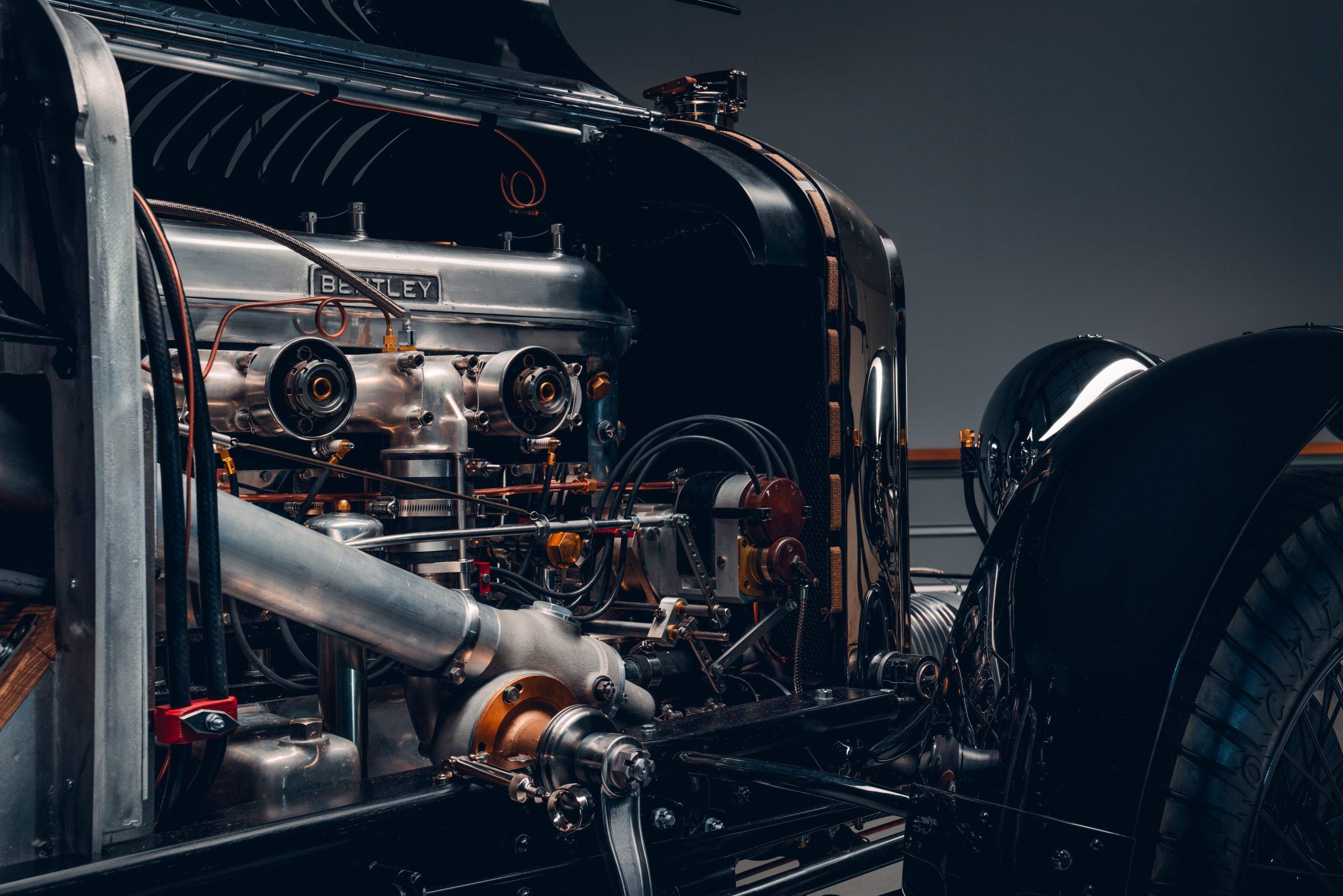 Bentley Blower Car Zero engine