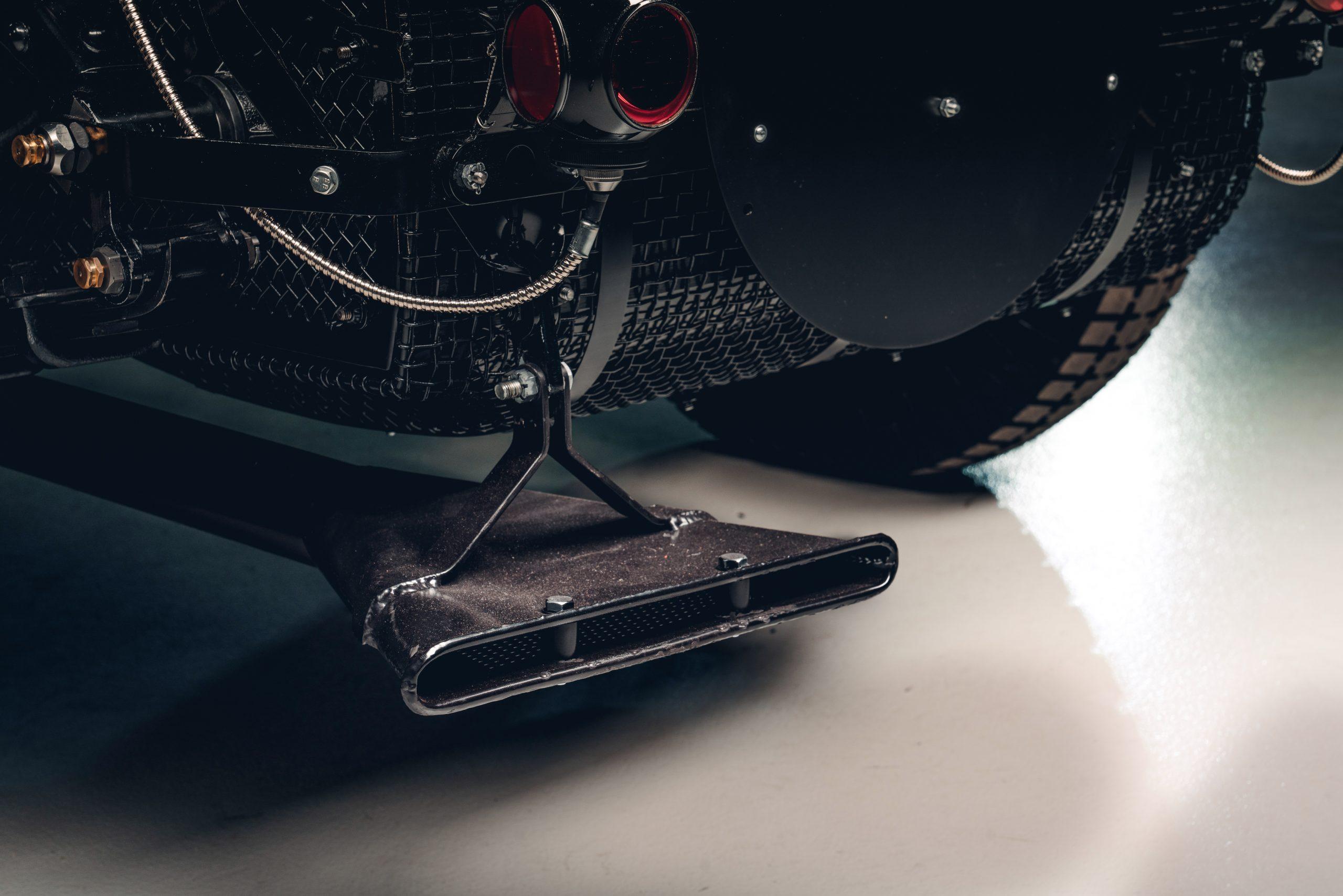 Bentley Blower Car Zero exhaust