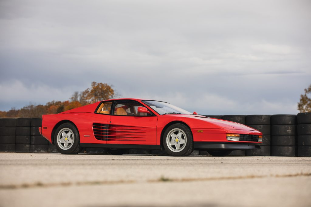 Ferrari Testarossa front three-quarter