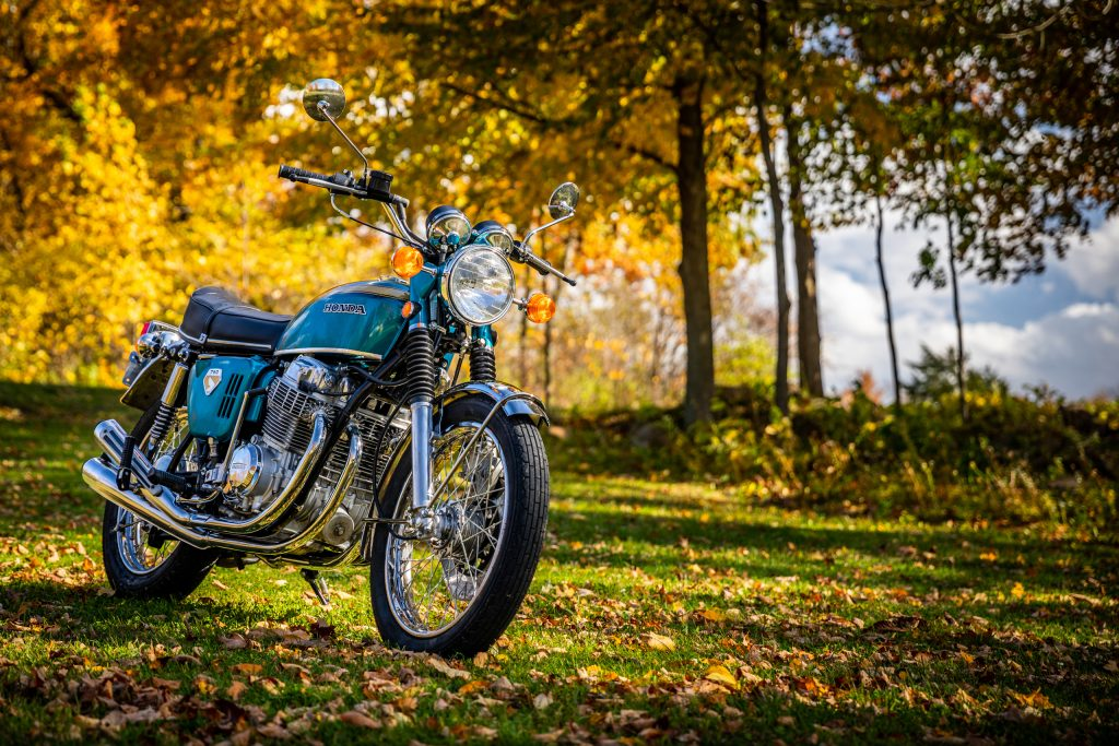 Honda CB750 front three-quarter