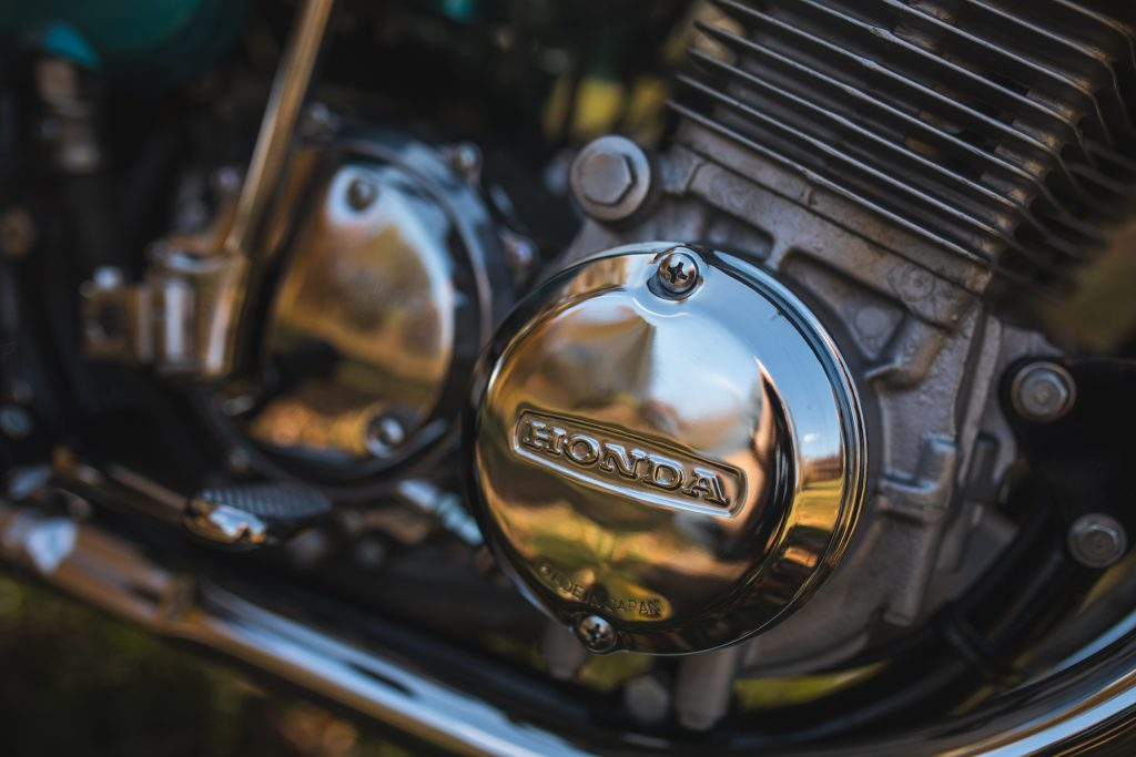 Honda CB750 Engine Detail