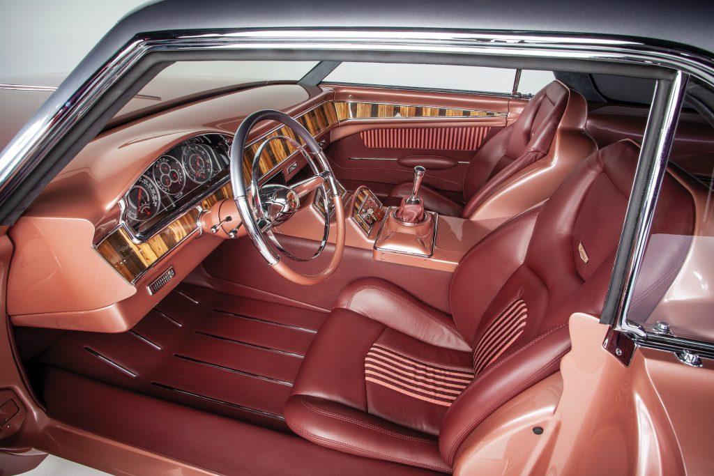 CadMad ridler winner interior side profile