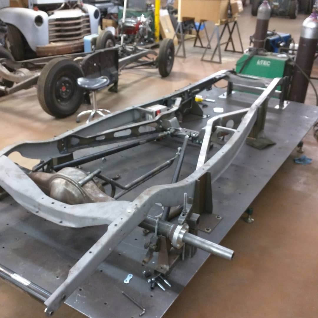 Ford 5-Window Coupe project frame
