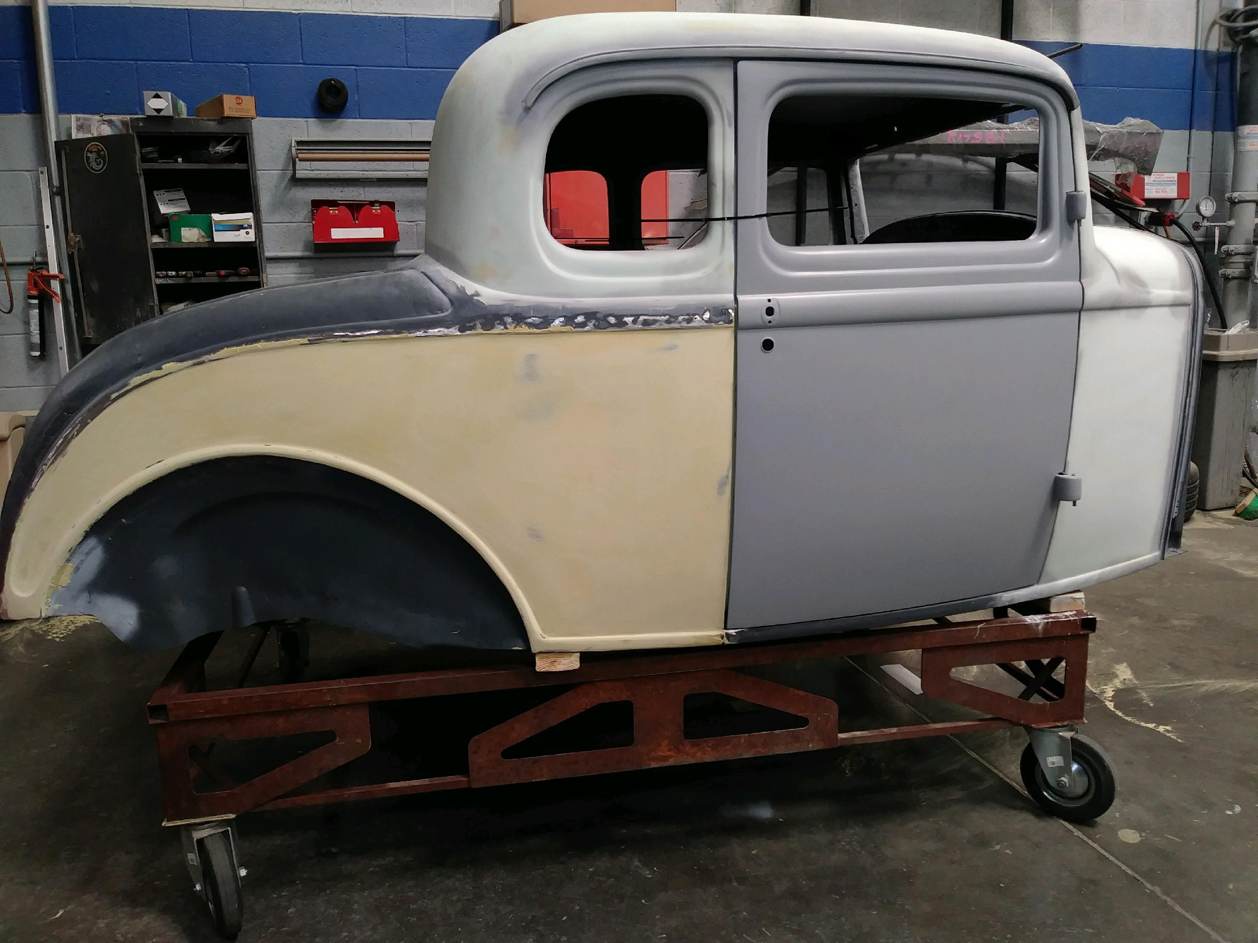 Ford 5-Window Coupe project bodywork