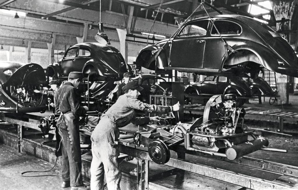 VW production Wolfsburg