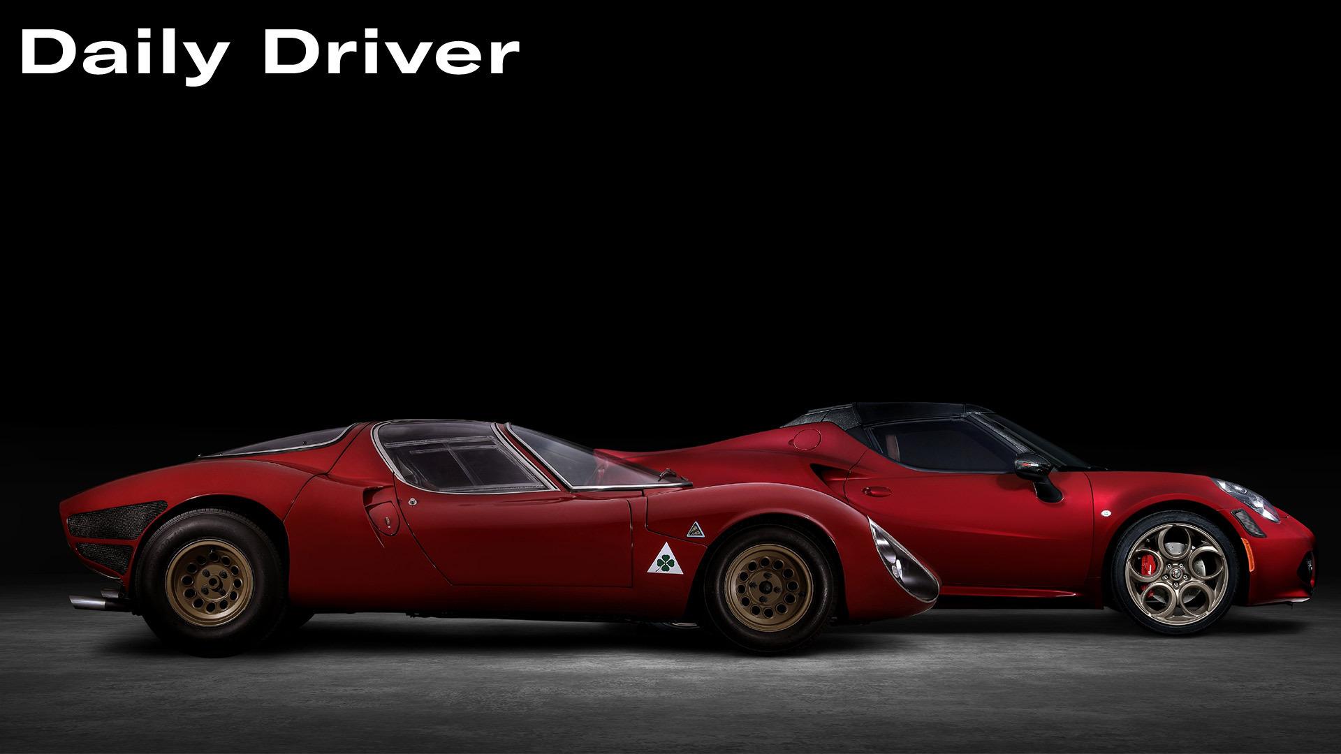 Daily Driver Alfa 4C