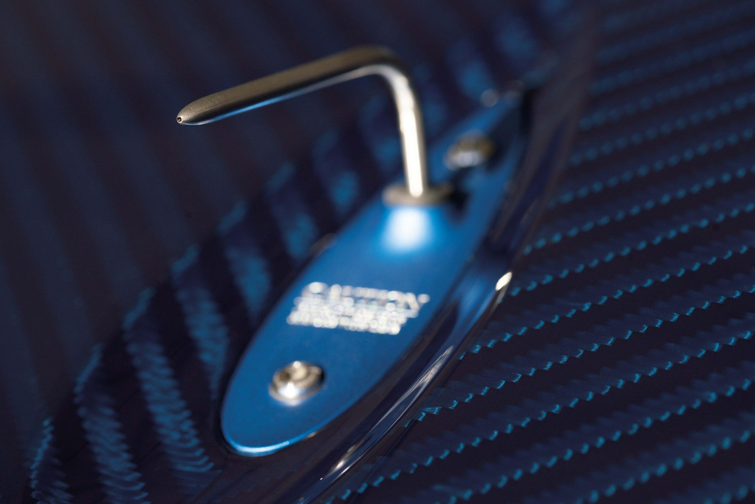 Pagani Huayra Tricolore carbon fiber detail