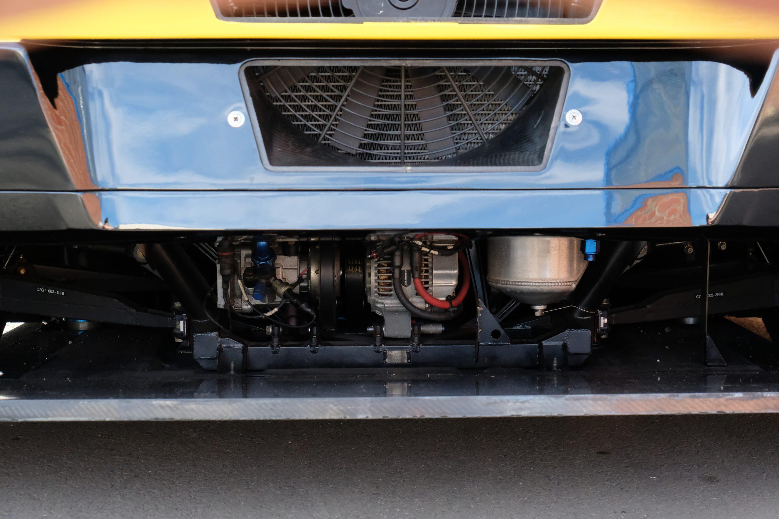 2015 corvette c7.r rear fan diffuser