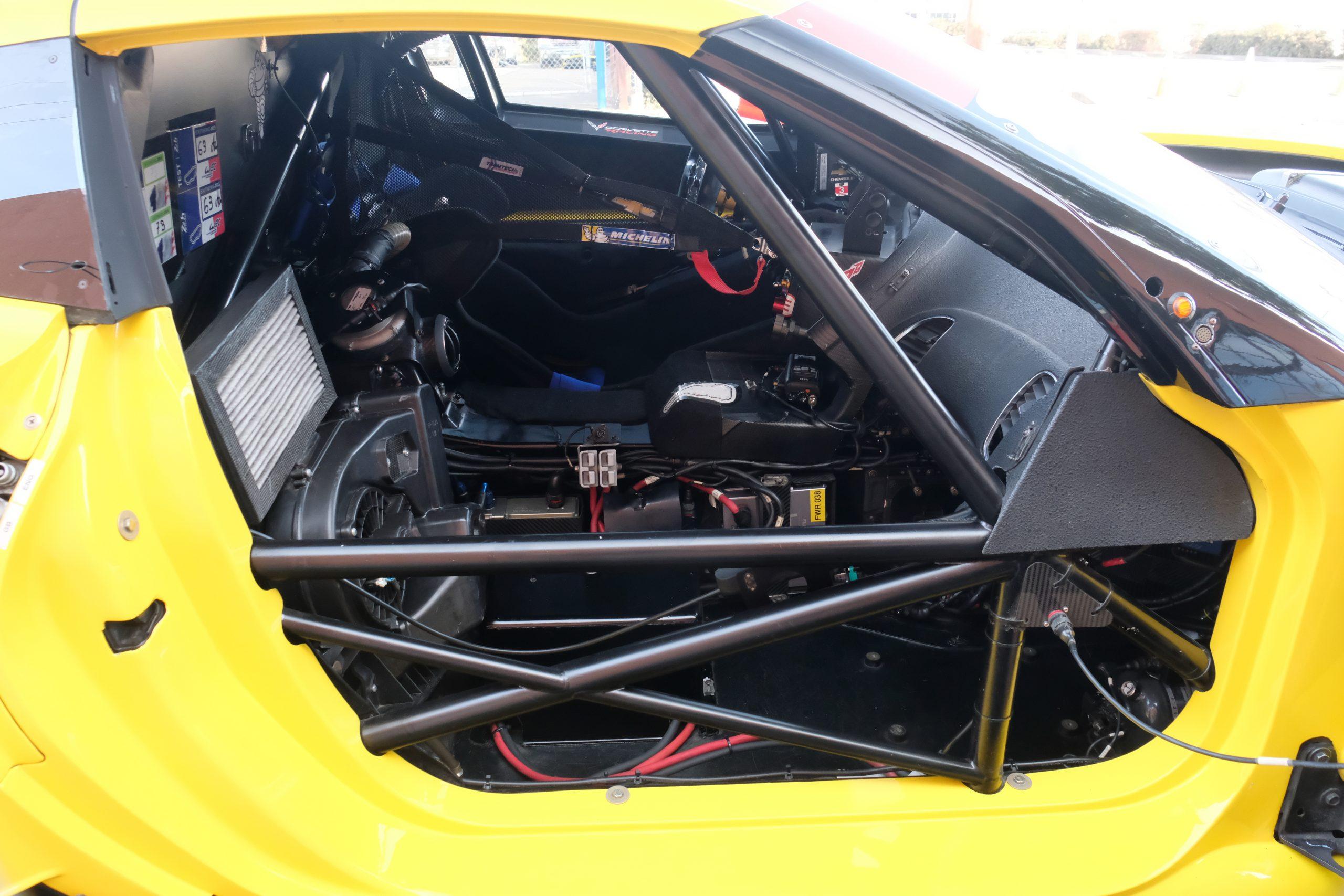 2015 corvette c7.r roll cage