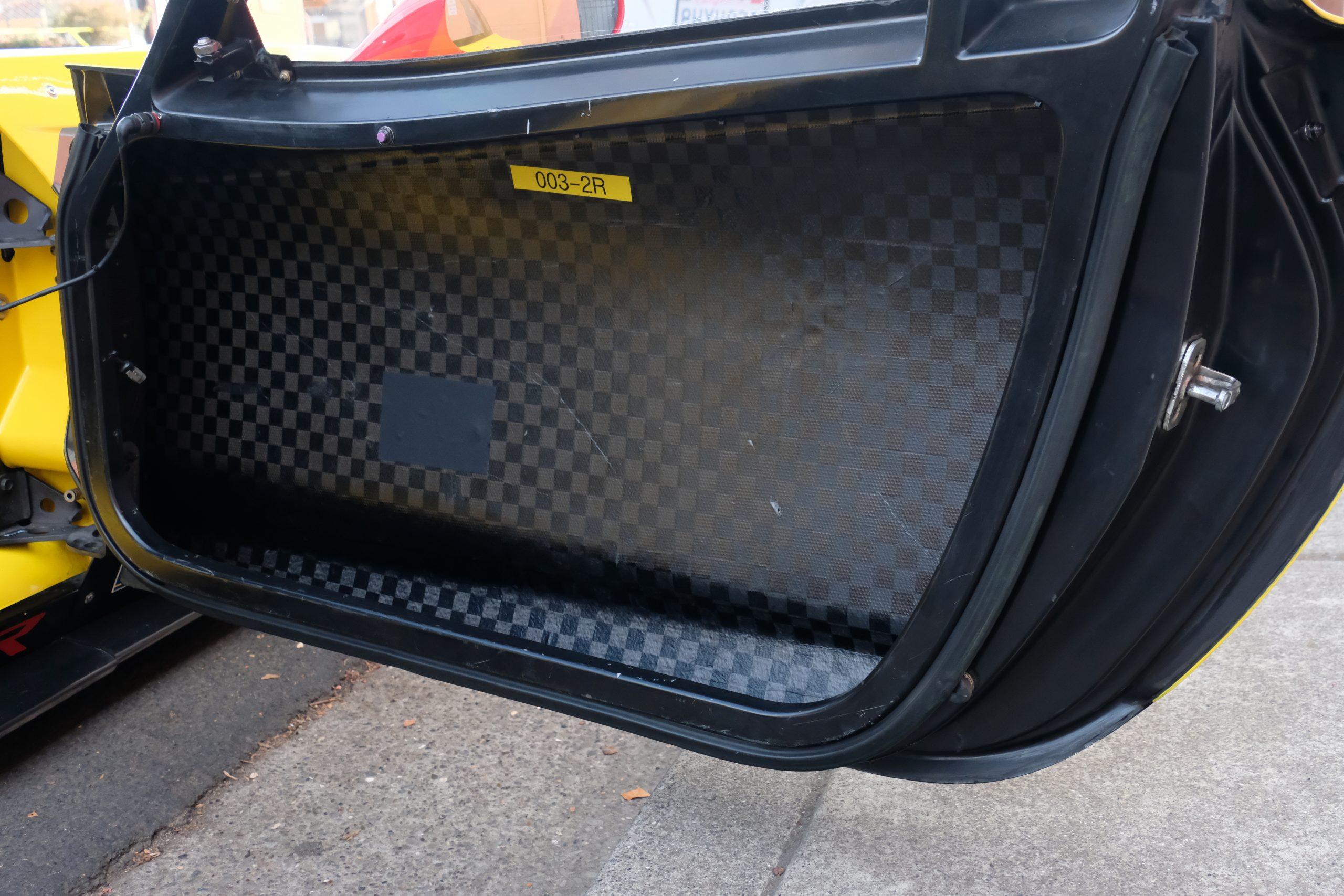 2015 corvette c7.r door panel