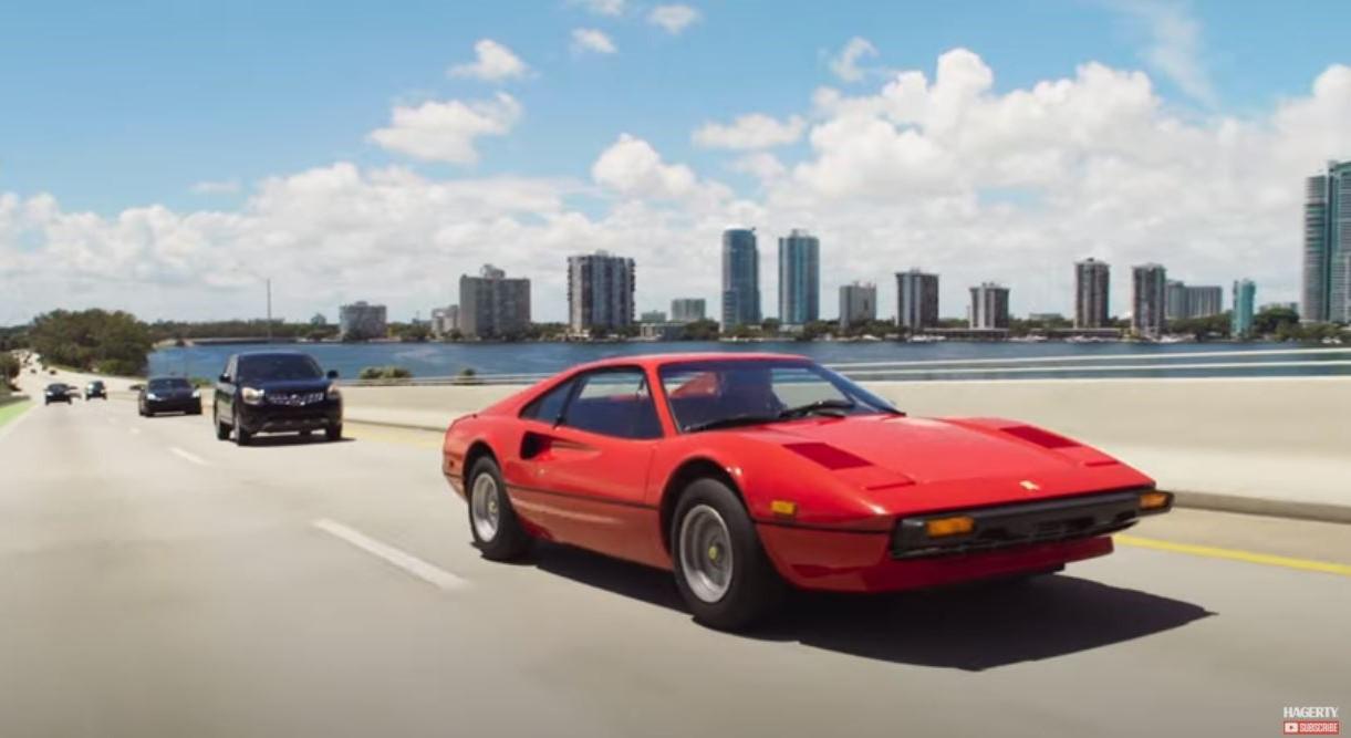 Drives Unexpected - Miami Ferrari