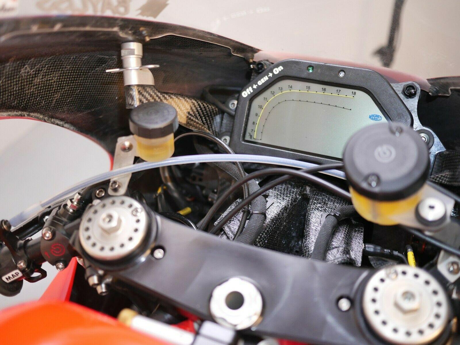 Ducati GP3 dash