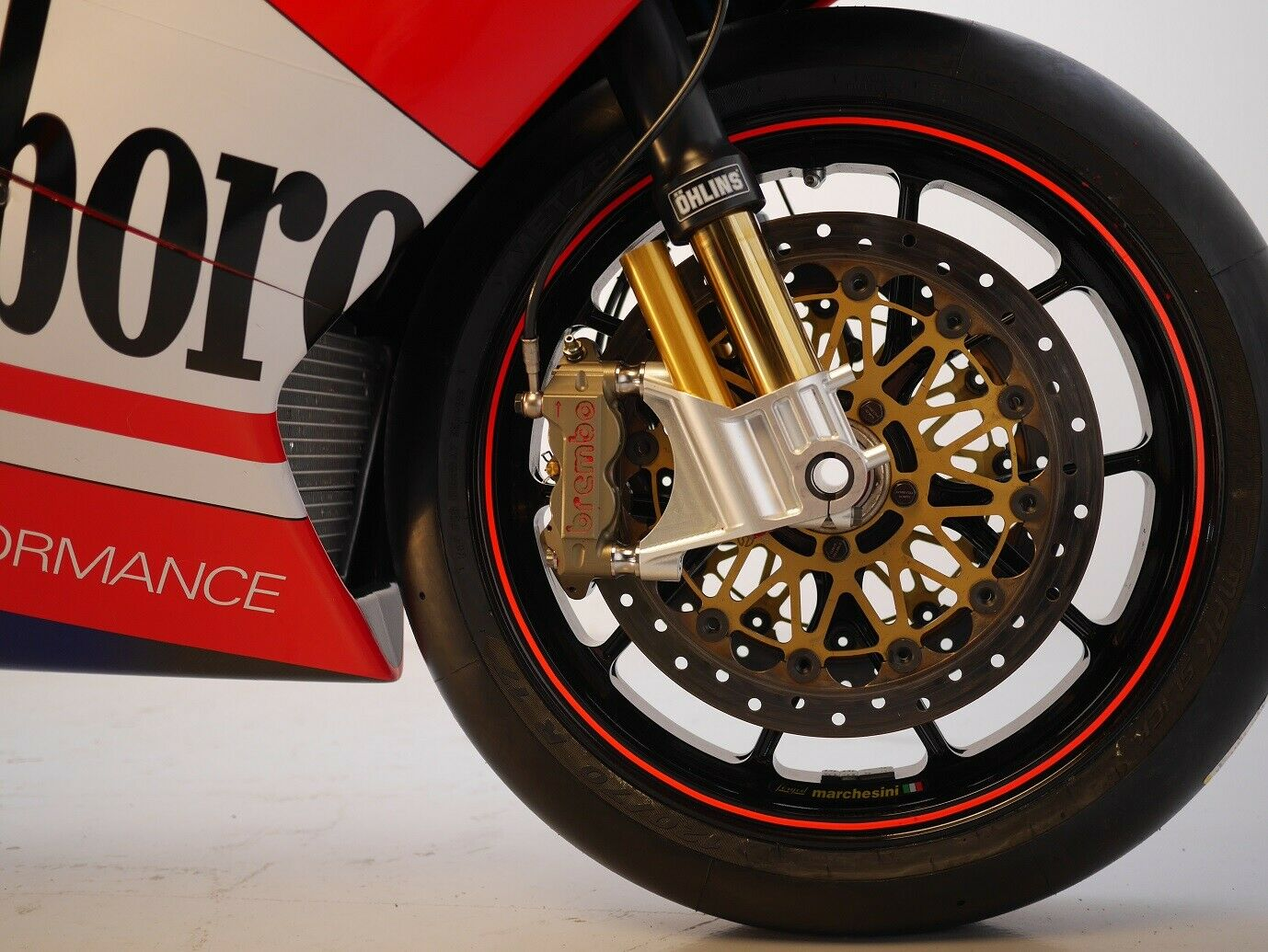 Ducati GP3 front end