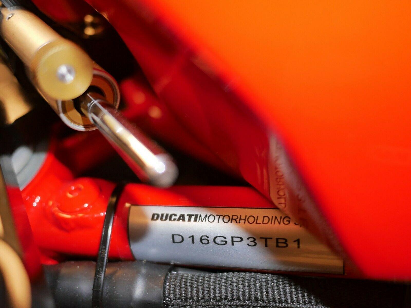 Ducati GP3 id tag