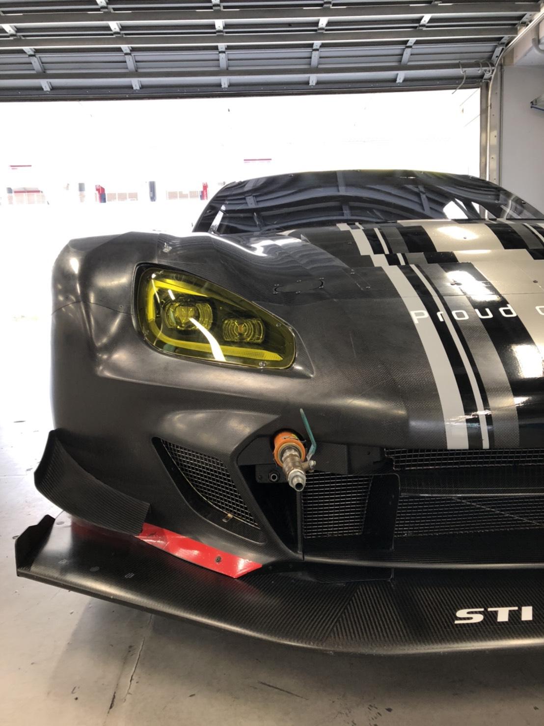 2021 Subaru BRZ GT300 front half