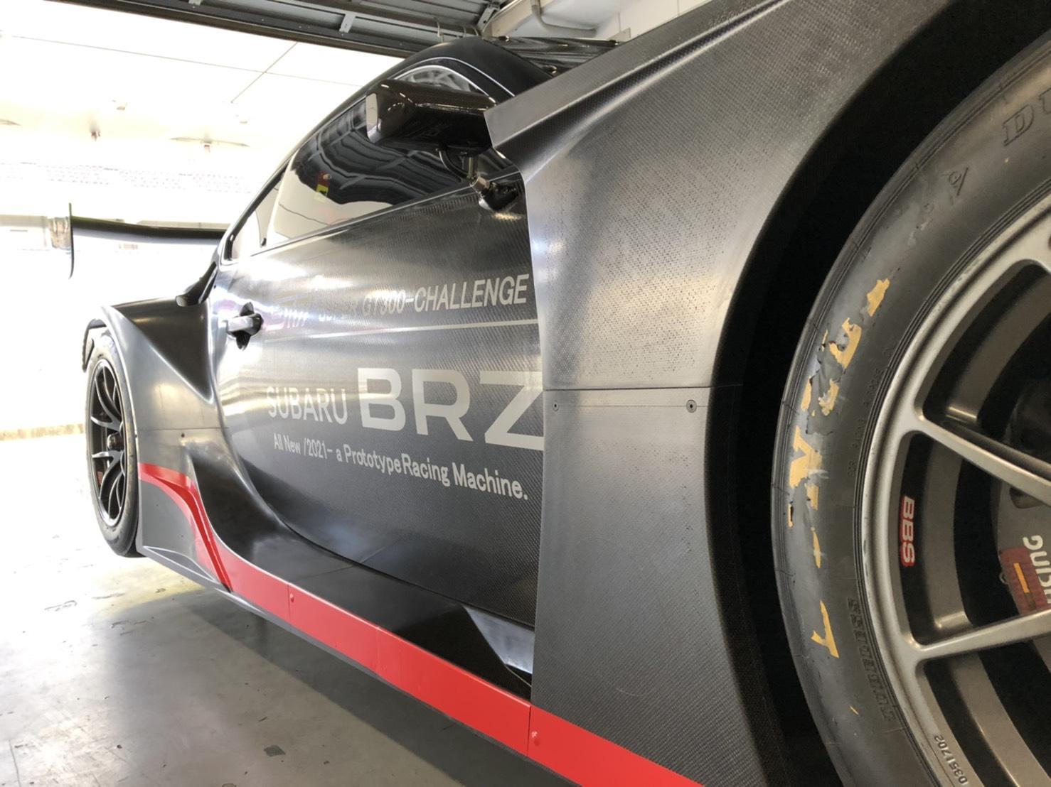 2021 Subaru BRZ GT300 side
