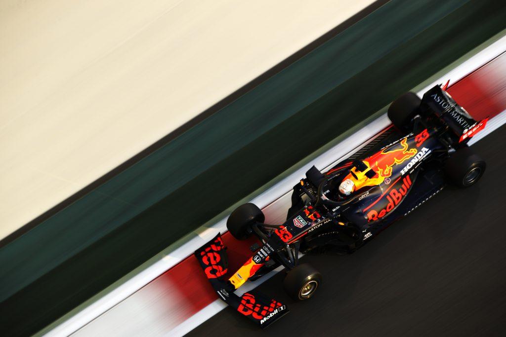 Max Verstappen Formula 1 practice action