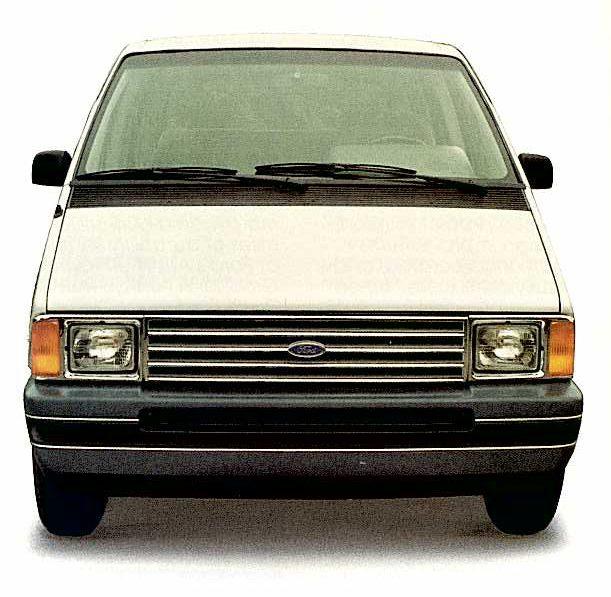 Ford Aerostar Van front