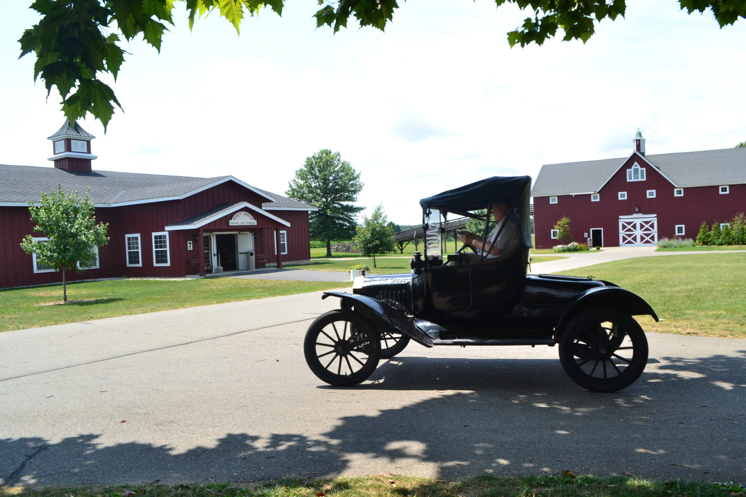 Ford Model T driving