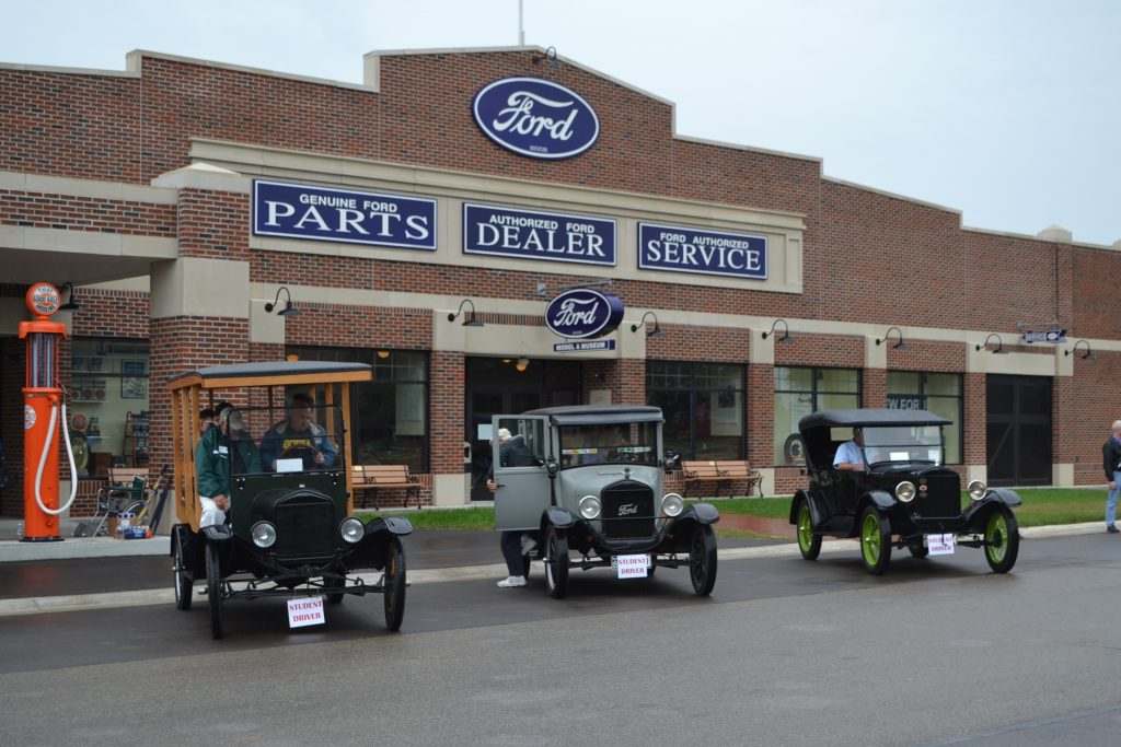 Ford Model T student driver cars