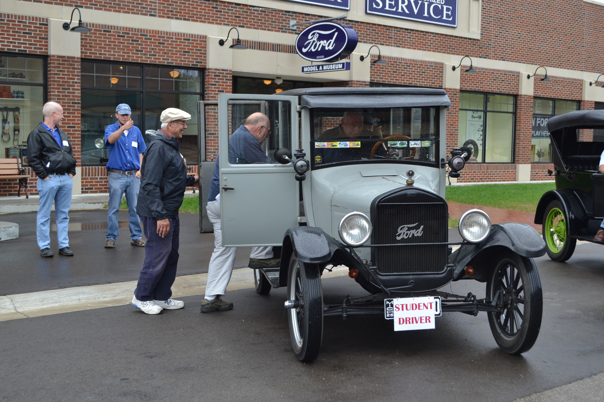 Ford Model T student drivers