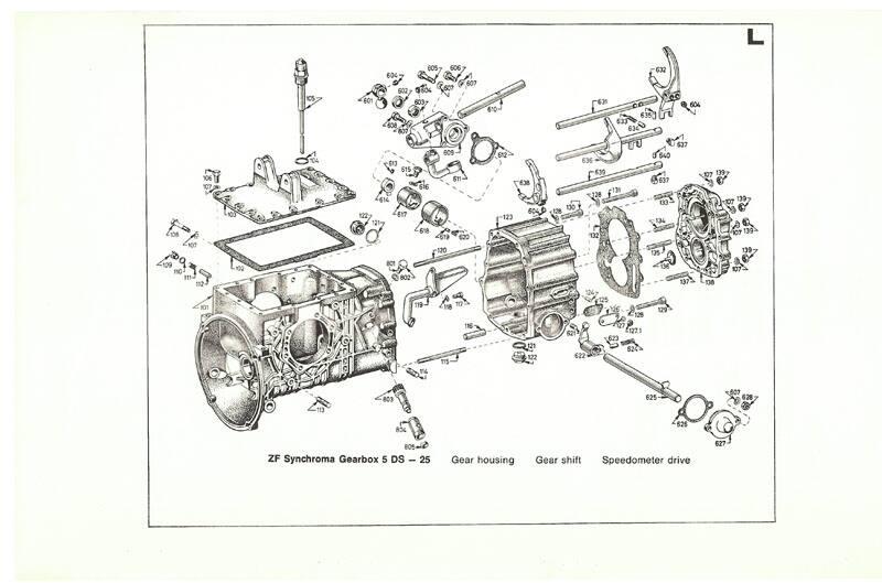 Ford GT40 Development drivetrain