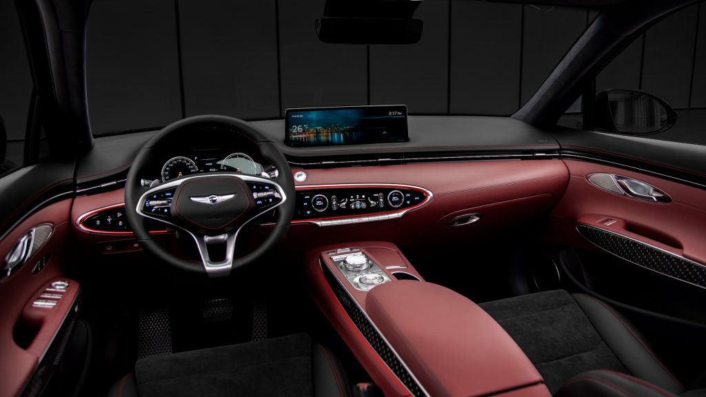 Genesis GV70 interior