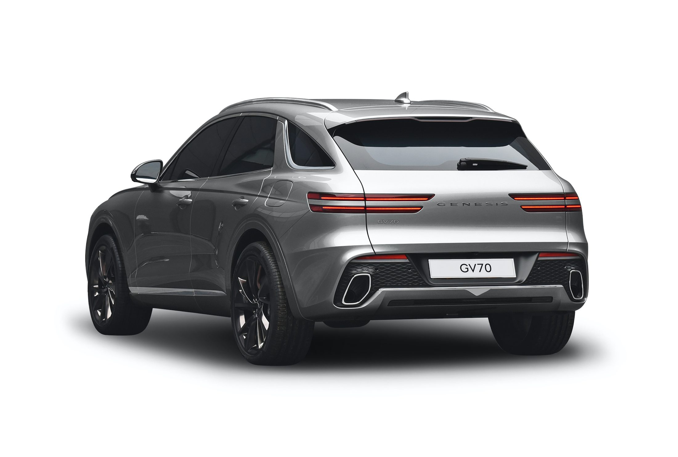 Genesis GV70 rear three-quarter
