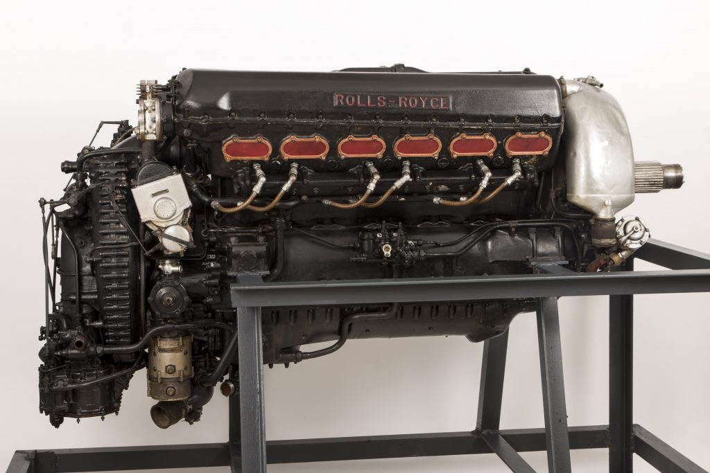Rolls Royce Spitfire Airplane Engine