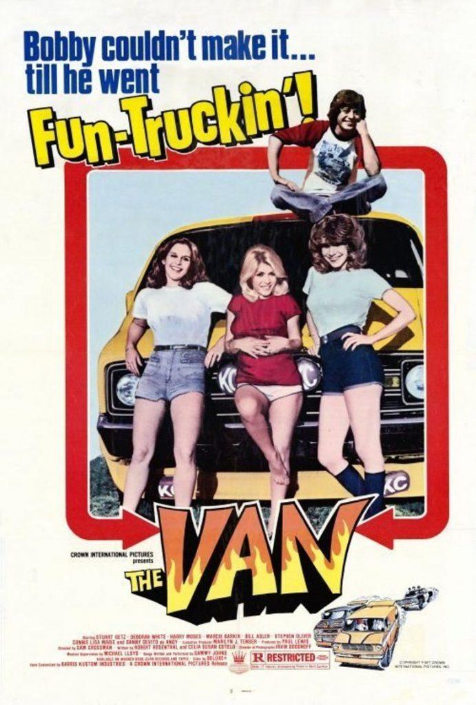 The Van 1977 poster brochure ad art