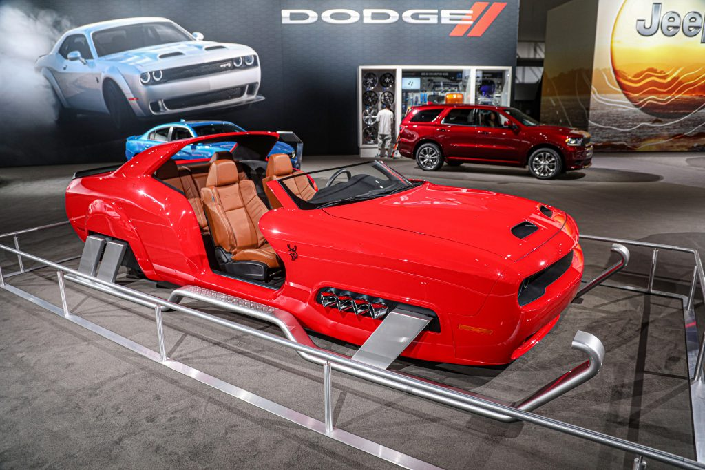 Dodge Hellcat Sleigh