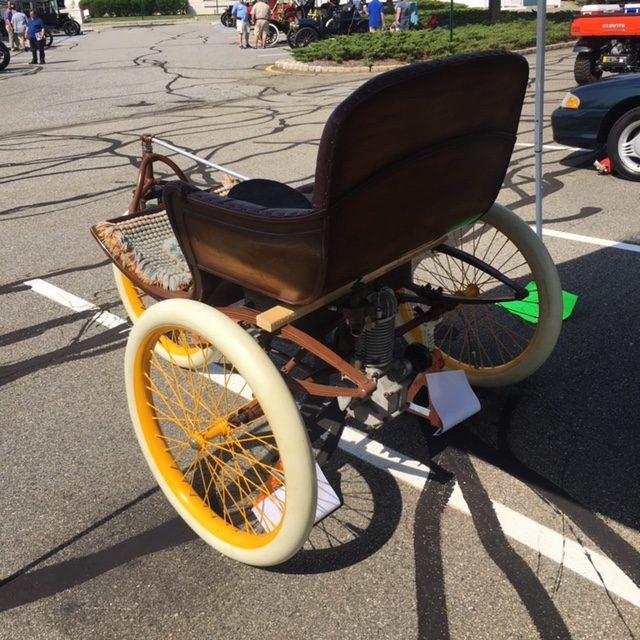 1899 Reese 3-Wheel Horseless Carriage