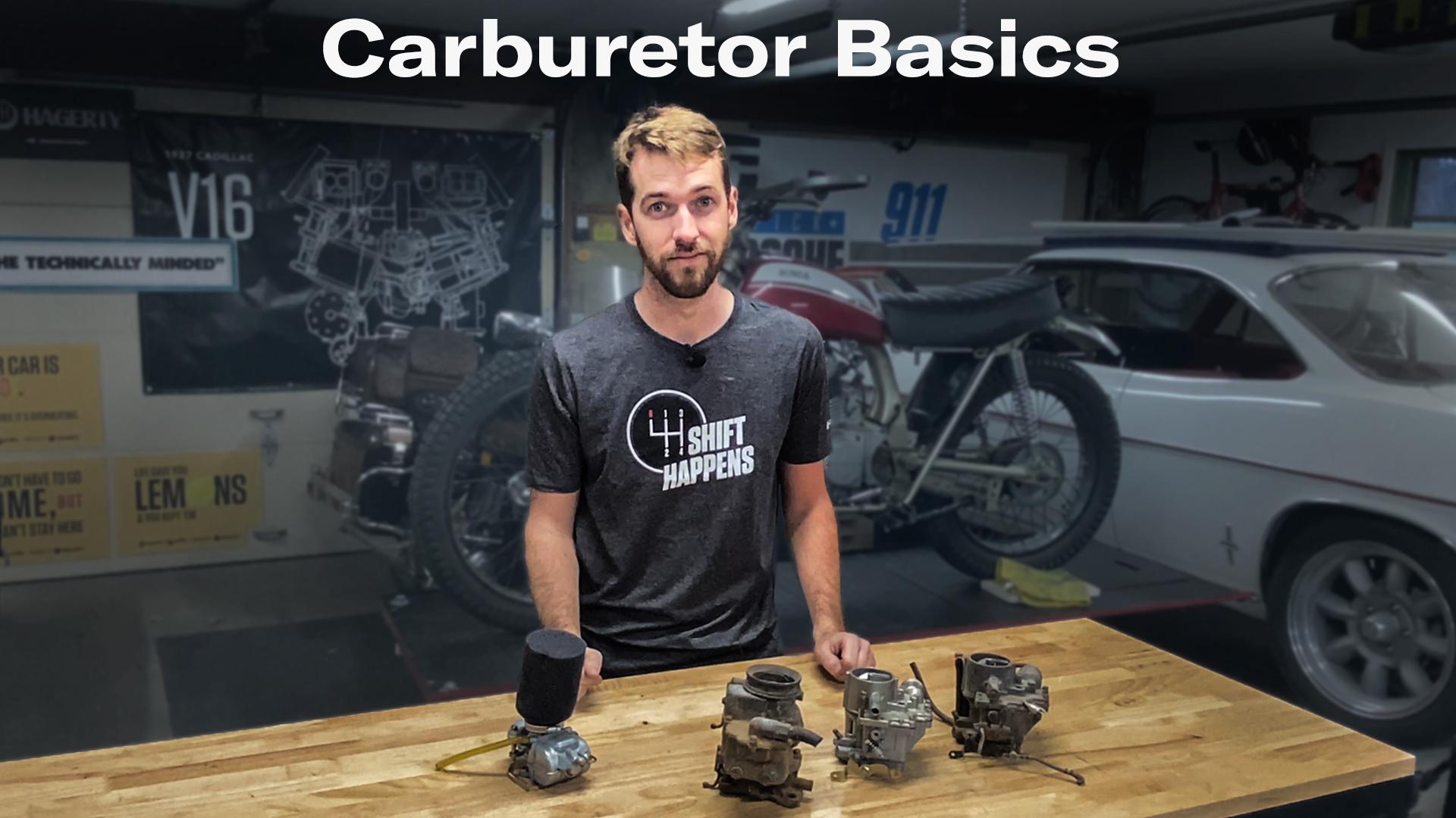 Kyle's Garage episode 24 Carb basics