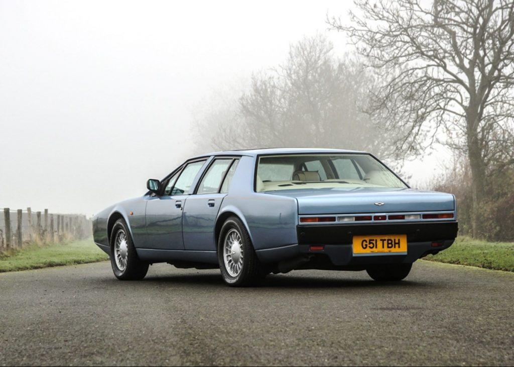 Lagonda rear