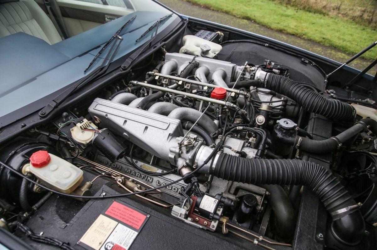 Lagonda engine