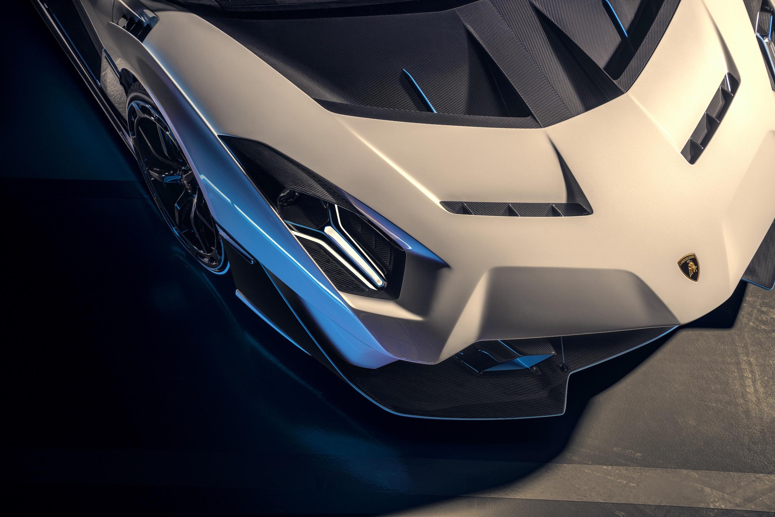 Lamborghini SC20 headlight detail