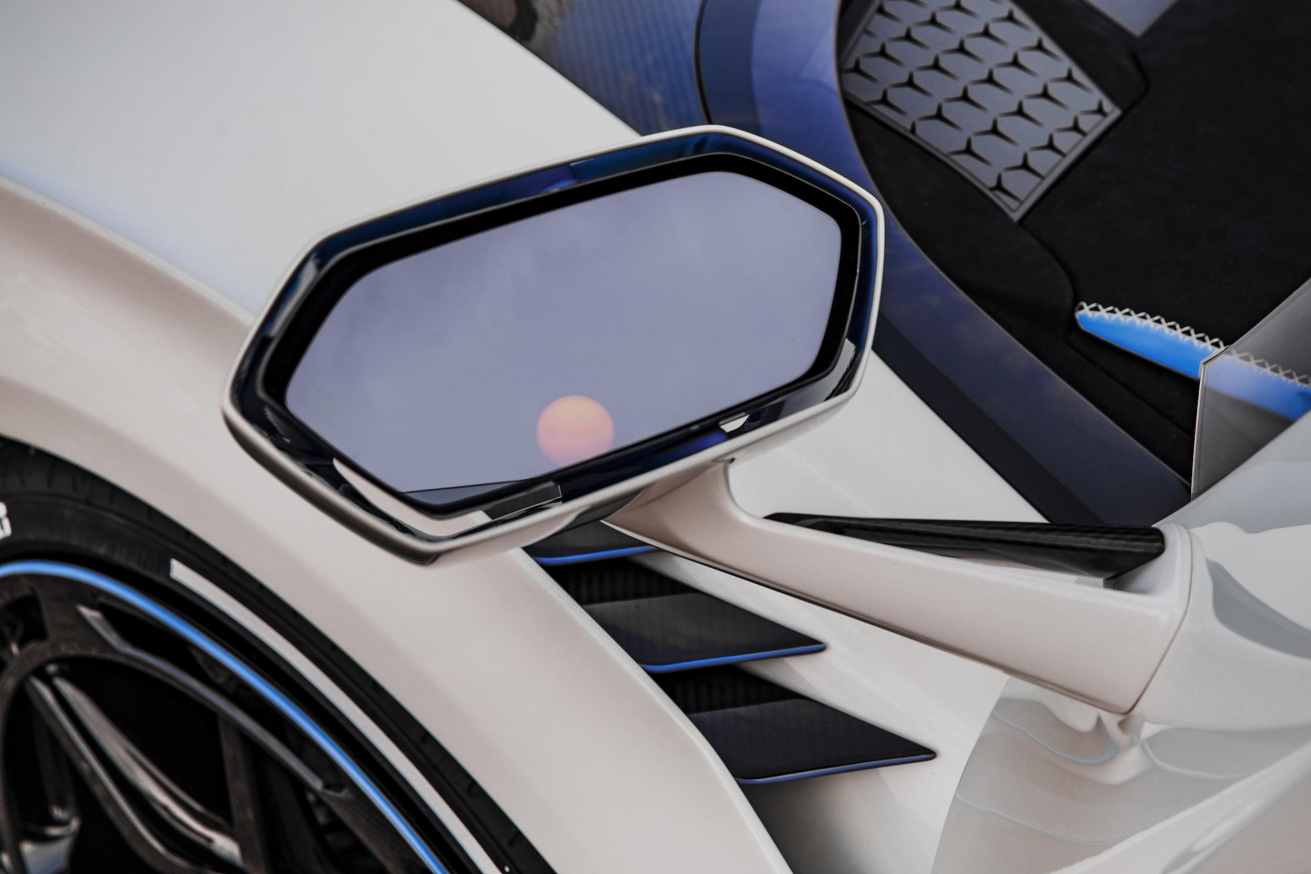 Lamborghini SC20 mirror