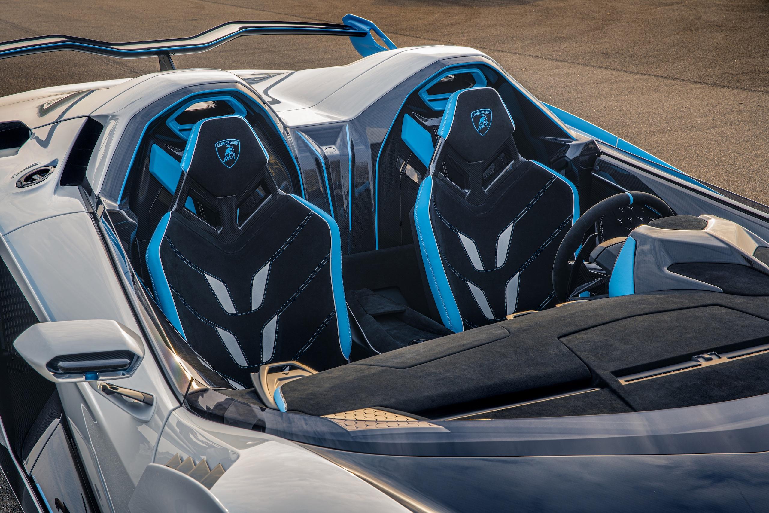 Lamborghini SC20 seat accents