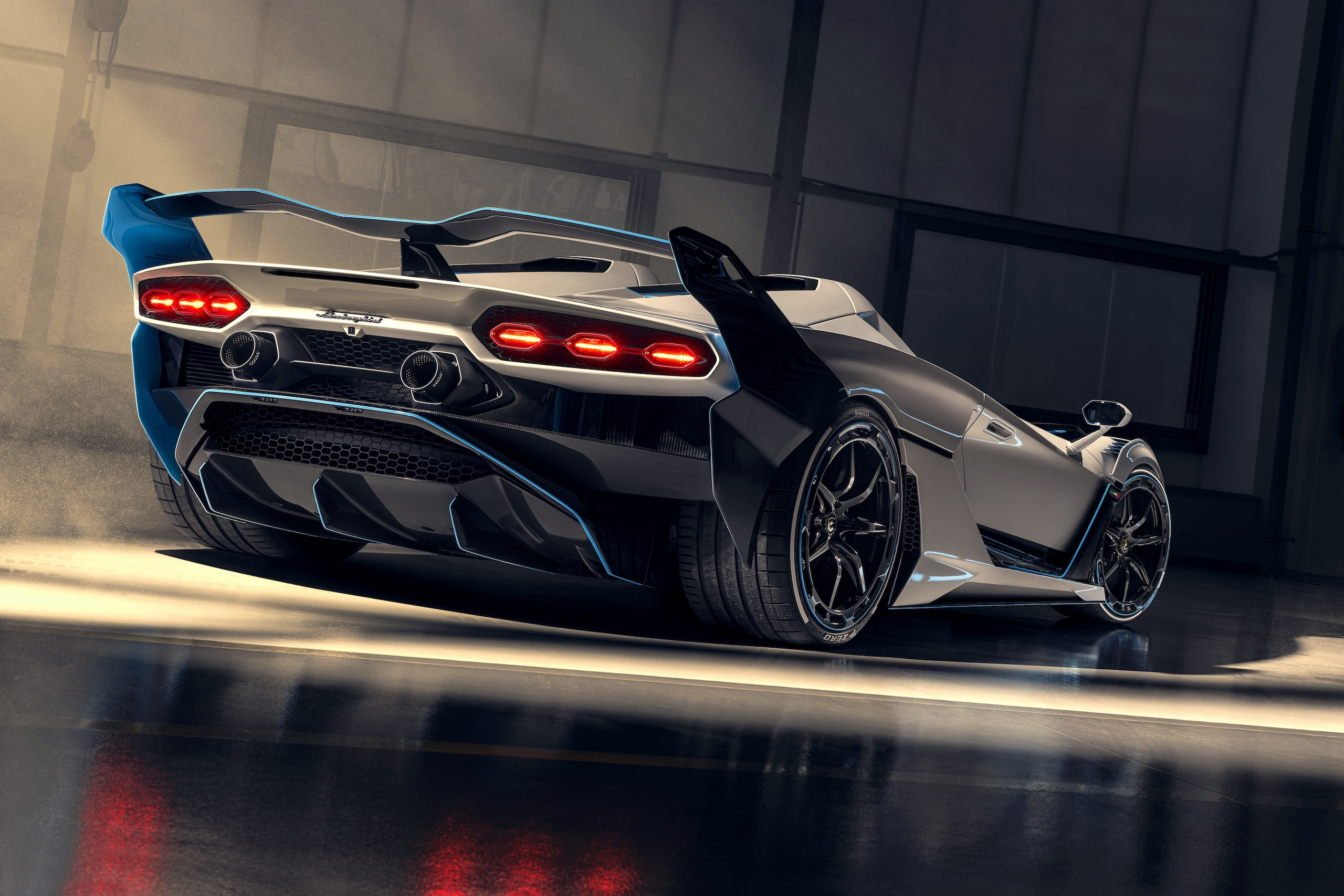 Lamborghini SC20 low rear three quarter